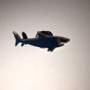 Shark Brooch